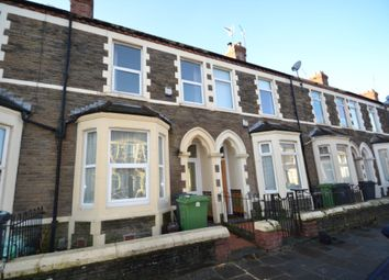 Thumbnail 3 bed terraced house to rent in Lisvane Street, Cardiff