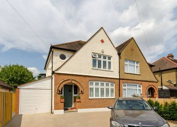 Thumbnail 4 bed semi-detached house to rent in Somerset Avenue, Chessington, Surrey.