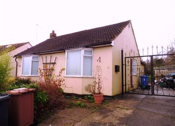 Thumbnail 3 bed detached bungalow for sale in The Crescent, Chaddesden, Derby