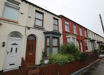 Thumbnail 2 bed terraced house for sale in Thomson Road, Liverpool