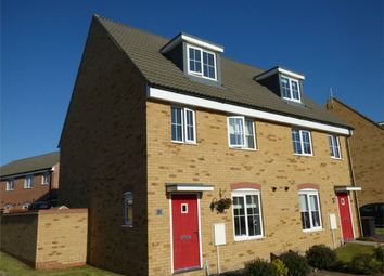 Thumbnail 3 bed semi-detached house for sale in Kelburn Road, Orton Northgate, Peterborough, Cambridgeshire