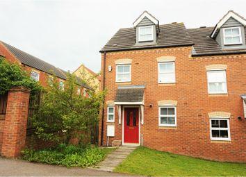 Thumbnail 3 bed semi-detached house for sale in Fellside Court, Dipton, Stanley