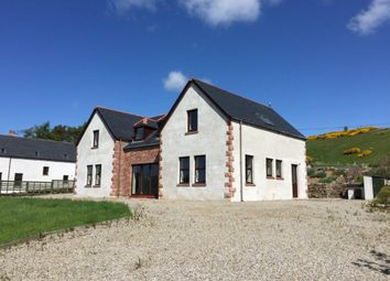 Thumbnail 4 bed detached house for sale in Saval Road, Lairg, Sutherland