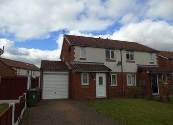 Thumbnail 3 bed semi-detached house for sale in Pallion Park, Sunderland