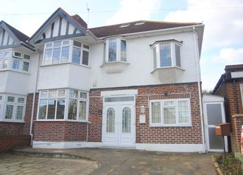 Thumbnail 5 bedroom semi-detached house to rent in Revell Road, Cheam