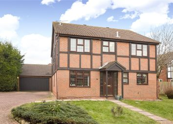 Thumbnail 4 bed detached house to rent in Cutbush Close, Lower Earley, Reading, Berkshire