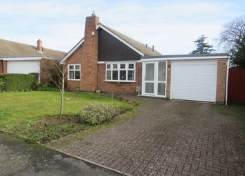 Thumbnail 3 bed detached bungalow for sale in Firwood Road, Melton Mowbray