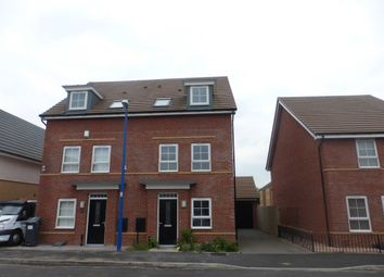 Thumbnail 3 bed semi-detached house for sale in Richard Bradley Way, Tipton