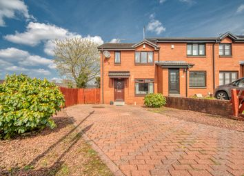 Thumbnail 3 bed end terrace house for sale in Budhill Avenue, Glasgow