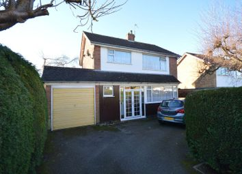 Thumbnail 3 bed detached house for sale in Hidcote Road, Oadby, Leicester