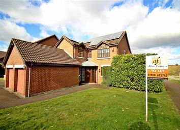 Thumbnail 4 bed detached house to rent in Brices Meadow, Shenley Brook End, Milton Keynes