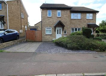 Thumbnail 2 bed semi-detached house for sale in The Spinney, Brackla, Bridgend