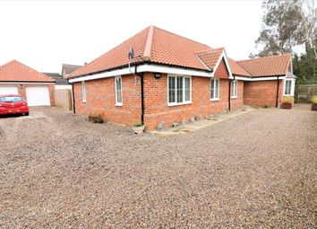 Thumbnail 4 bed detached bungalow for sale in Common Lane, Great Witchingham