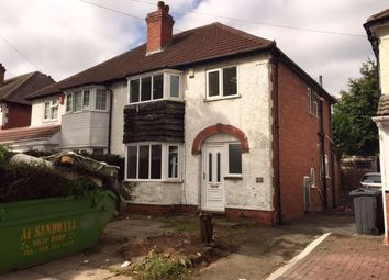 Thumbnail 3 bed semi-detached house to rent in Linchmere Road, Handsworth, Birmingham