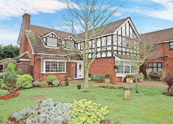 Thumbnail 4 bed detached house for sale in Furlong Lane, Poulton-Le-Fylde, Lancashire