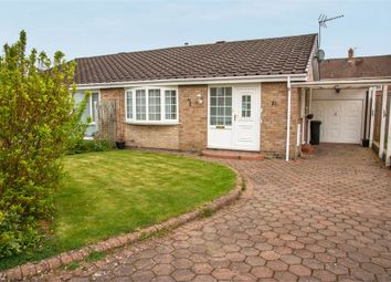 Thumbnail 2 bedroom semi-detached bungalow for sale in Castle Way, Dinnington, Newcastle Upon Tyne, Tyne And Wear