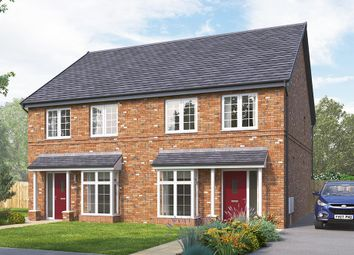 "Thumbnail 3 bed semi-detached house for sale in ""The Lorton"" at Rectory Lane, Guisborough"