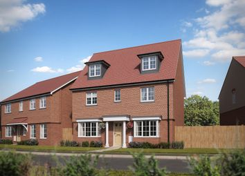 "Thumbnail 5 bed detached house for sale in ""The Regent "" at Minchens Lane, Bramley, Tadley"
