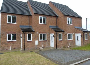 Thumbnail 3 bed terraced house for sale in Haworth Close, Stretton, Alfreton
