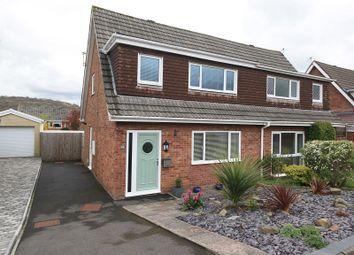 Thumbnail 3 bed semi-detached house for sale in Summerfield Drive, Llantrisant, Pontyclun, Rhondda, Cynon, Taff.