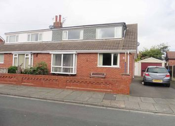 Thumbnail 4 bedroom semi-detached bungalow for sale in Allen Close, Thornton-Cleveleys