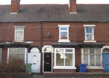 Thumbnail 2 bed terraced house for sale in Stafford Road, Cannock