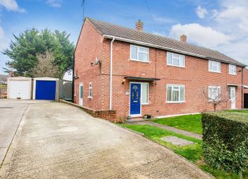 Thumbnail 3 bedroom semi-detached house for sale in Overn Avenue, Buckingham