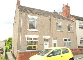 Thumbnail 2 bed end terrace house for sale in Hardwick Street, Tibshelf, Alfreton