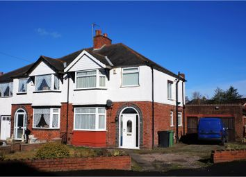 Thumbnail 3 bed semi-detached house for sale in Newlands Drive, Halesowen