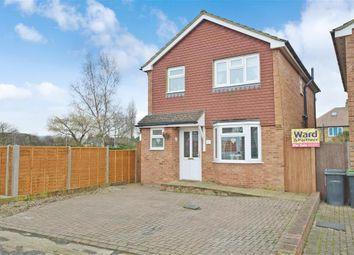 Thumbnail 3 bed detached house for sale in Brookfield Avenue, Larkfield, Aylesford, Kent