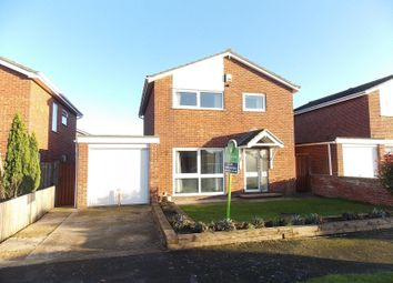 Thumbnail 4 bedroom detached house to rent in Burwell Road, Exning, Newmarket