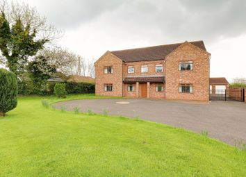Thumbnail 5 bed detached house for sale in Low Road, Worlaby, Brigg