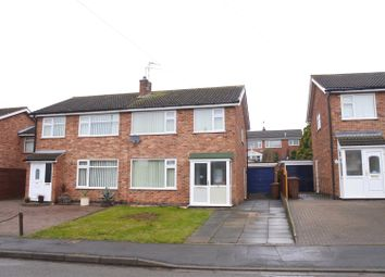Thumbnail 3 bed semi-detached house for sale in Valley Road, Melton Mowbray