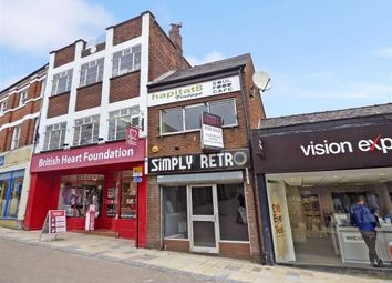 Thumbnail Retail premises for sale in Bridge Street, Congleton, Cheshire