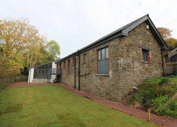 Thumbnail 3 bed barn conversion for sale in Cefn-Y-Rhos, Pantside, Newbridge