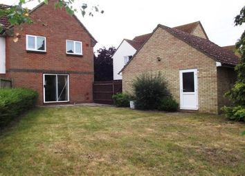 Thumbnail 3 bedroom property to rent in Kestrel Close, Beck Row, Bury St. Edmunds
