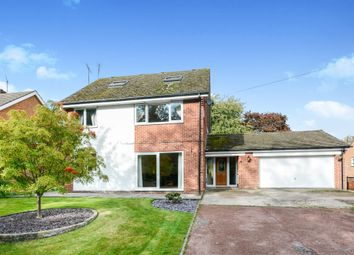 Thumbnail 5 bed detached house for sale in Swathwick Lane, Wingerworth, Chesterfield