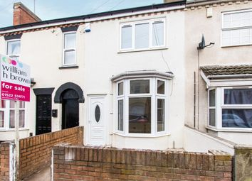 Thumbnail 3 bed terraced house for sale in Newland Street West, Lincoln