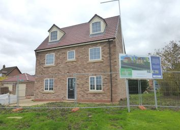 Thumbnail 4 bed detached house for sale in Meadow View, Blyton, Gainsborough