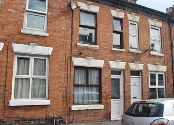 Thumbnail 2 bed terraced house to rent in Lansdowne Road, Aylestone, Leicester