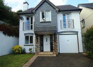 Thumbnail 3 bed detached house to rent in Chynoon Gardens, St. Austell