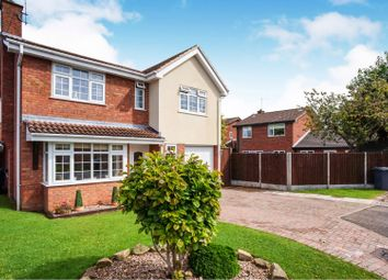 4 bed detached house for sale in Longbow Close, Stretton, Burton-On-Trent DE13