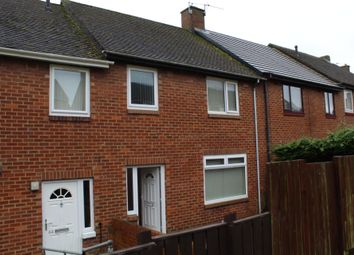 Thumbnail 3 bed terraced house to rent in Acton Dene, East Stanley