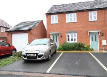 Thumbnail 3 bed semi-detached house to rent in Perle Road, Burton-On-Trent