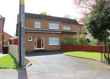 Thumbnail 3 bedroom semi-detached house to rent in Galway Park, Dundonald, Belfast