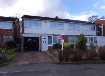 Thumbnail 3 bed semi-detached house for sale in Helston Road, Park Hall, Walsall