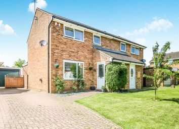 Thumbnail 3 bed semi-detached house for sale in Croft Close, Wellingborough, Northamptonshire, England