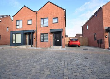 Thumbnail 2 bed semi-detached house for sale in Siskin Road, Cottam, Preston