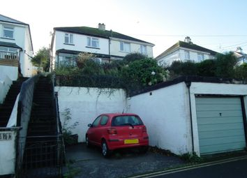 Thumbnail 3 bed semi-detached house for sale in Downs Road, West Looe