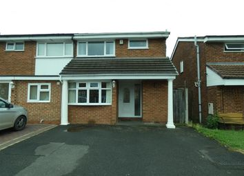 Thumbnail 3 bedroom semi-detached house to rent in Kington Way, Stechford, Birmingham
